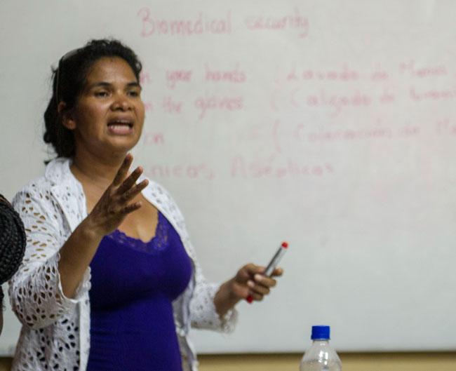 Rosa Lourdes Nascimento, RN